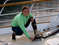 Kate, One of the Yacht Crew